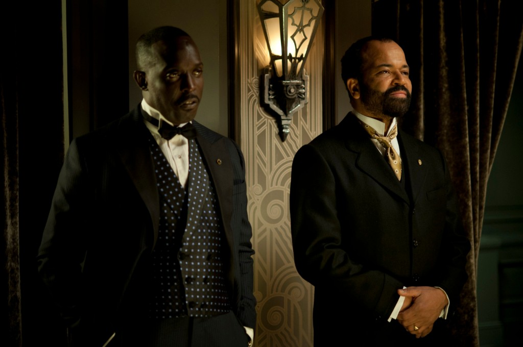 Jeffrey Wright (right, with Michael K. Williams)