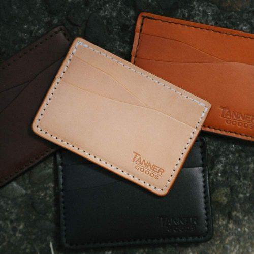 leather cardholder wallet mens