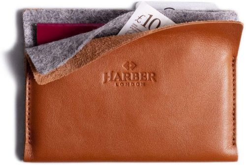 minimalist wallet leather