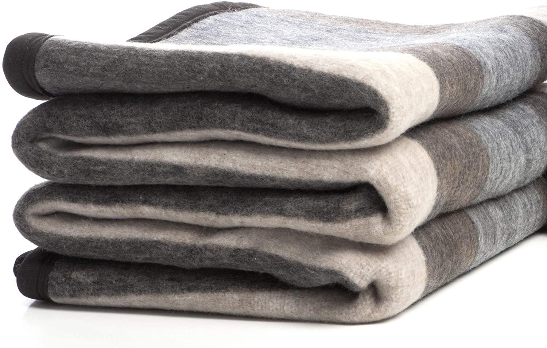 wool blanket alpaca