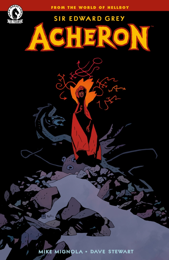 Cover 1 of 2 for 'Acheron,' by Mike Mignola