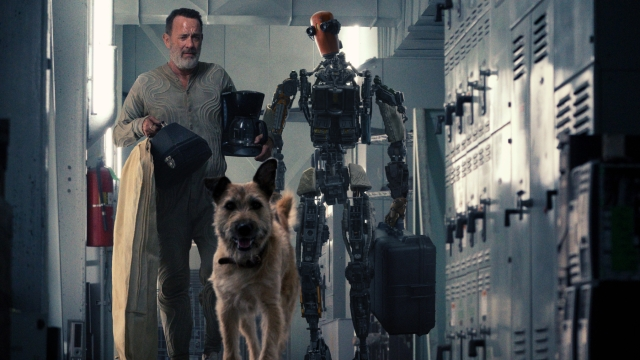 Tom Hanks, a Dog, and a Robot Navigate a Totally Scorched Earth in New 'Finch' Trailer.jpg