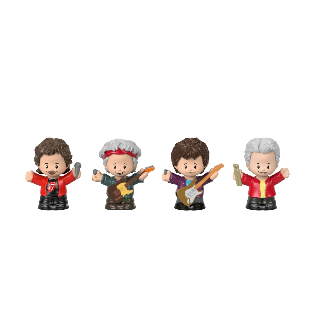 Fisher-Price-Little-People-Collector-The-Rolling-Stones-Figures