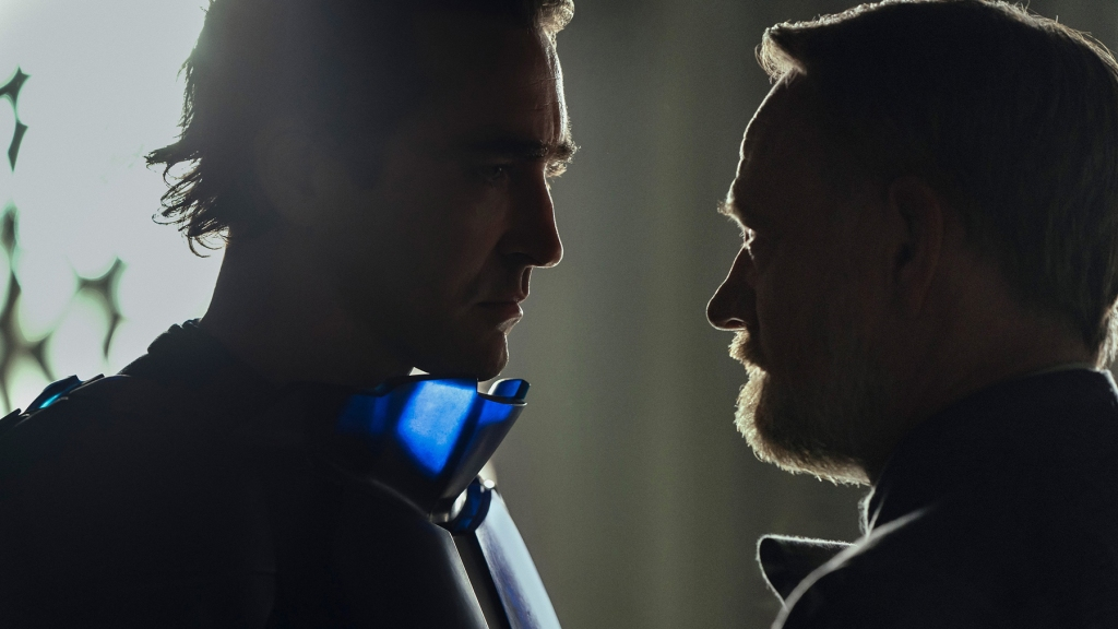 """Lee Pace and Jared Harris in """"Foundation,"""" premiering September 24, 2021 on Apple TV+."""