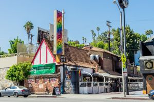 LOS ANGELES, CA - AUGUST 15: A view of the Rainbow Room Bar & Grill night club in West Hollywood on August 15, 2014 in Los Angeles, California. (Photo by AaronP/Bauer-Griffin/GC Images)