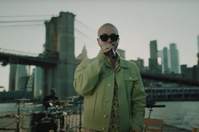 J Balvin Brought 'Jose' to a Barge on the East River for NPR's 'El Tiny' Series.jpg