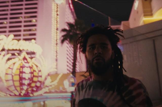 J. Cole Hits Vegas Strip in Video for 'Heaven's EP'.jpg
