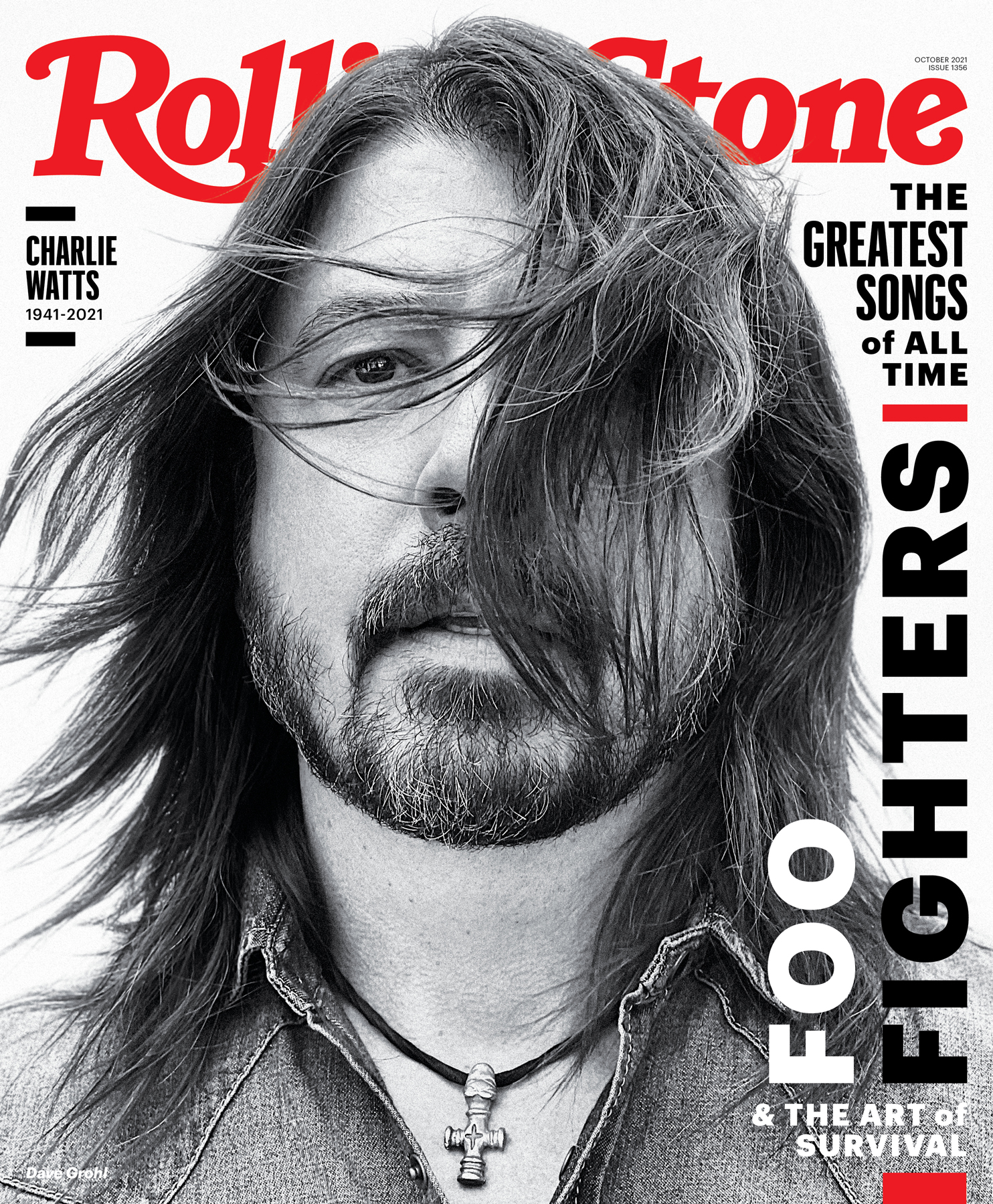 Dave Grohl, photographed in Los Angeles on June 10th, 2021, by Jason Nocito.