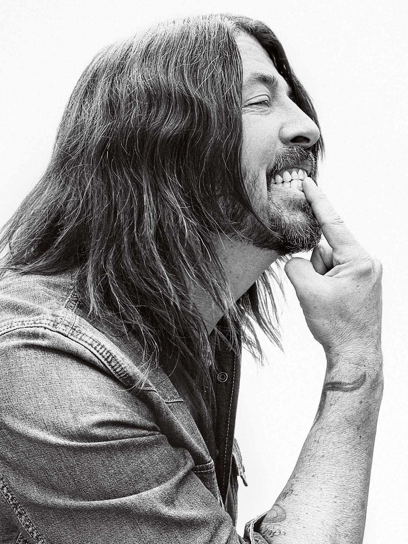 Dave Grohl, photographed in Los Angeles on June 10th, 2021.
