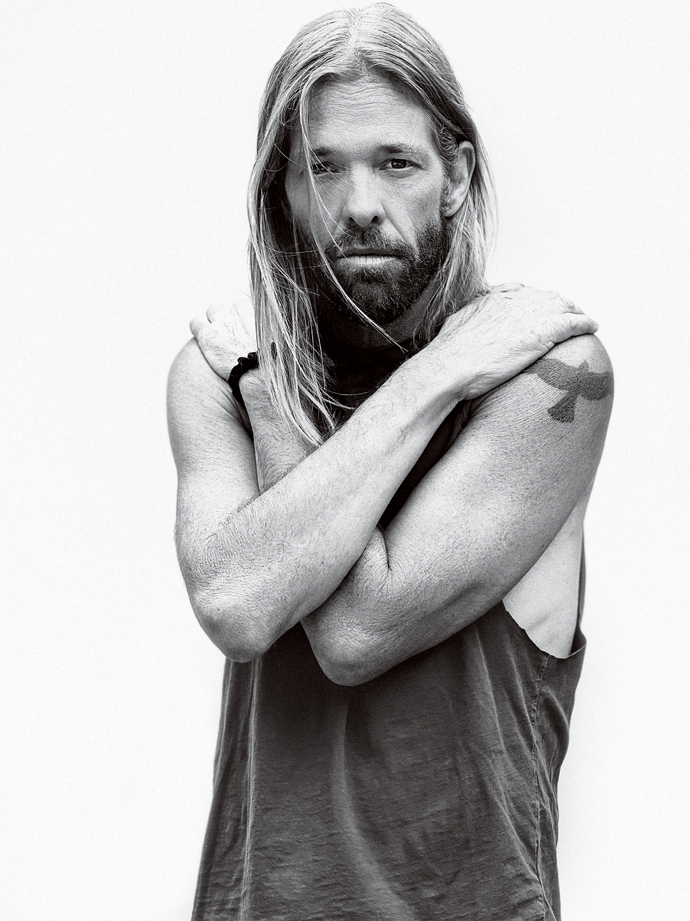 Taylor Hawkins, photographed in Los Angeles on June 10th, 2021.