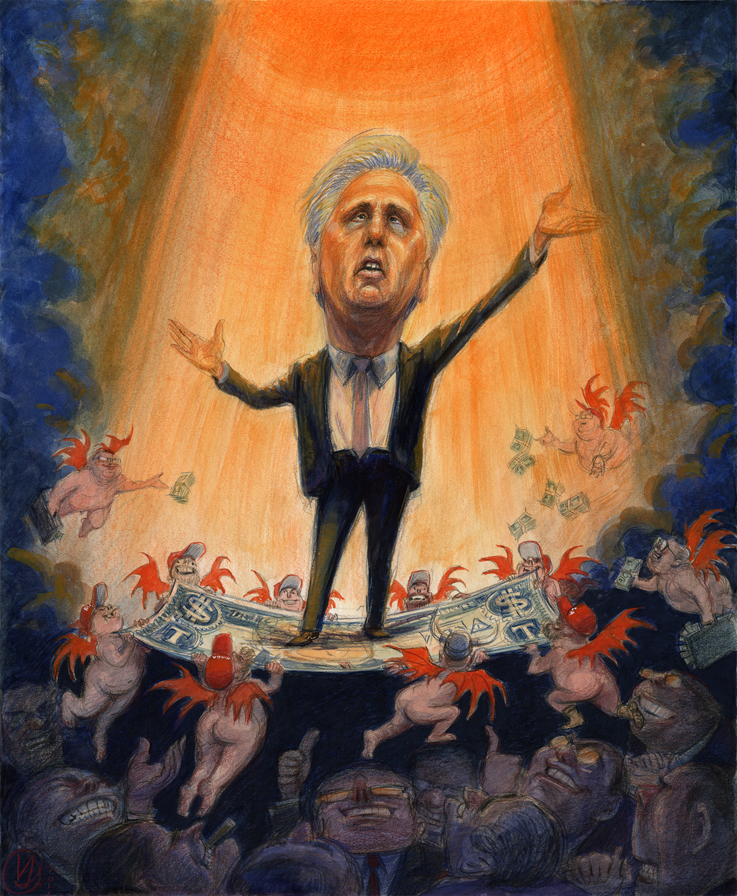 Kevin McCarthy's Extreme MAGA Makeover