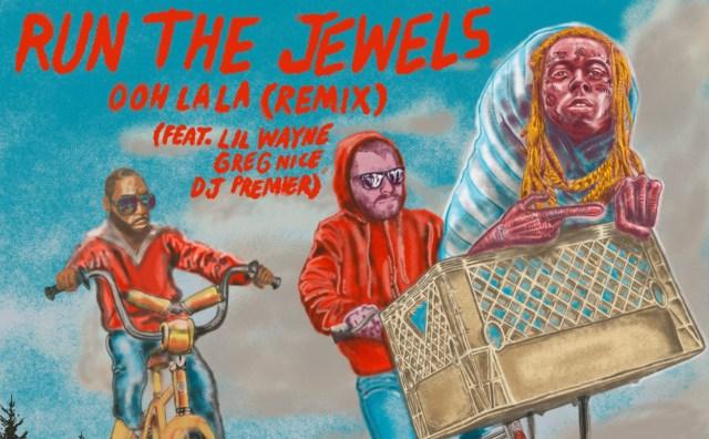 Lil Wayne and DJ Premier Hop on Run the Jewels' 'Ohh La La' Remix.jpg