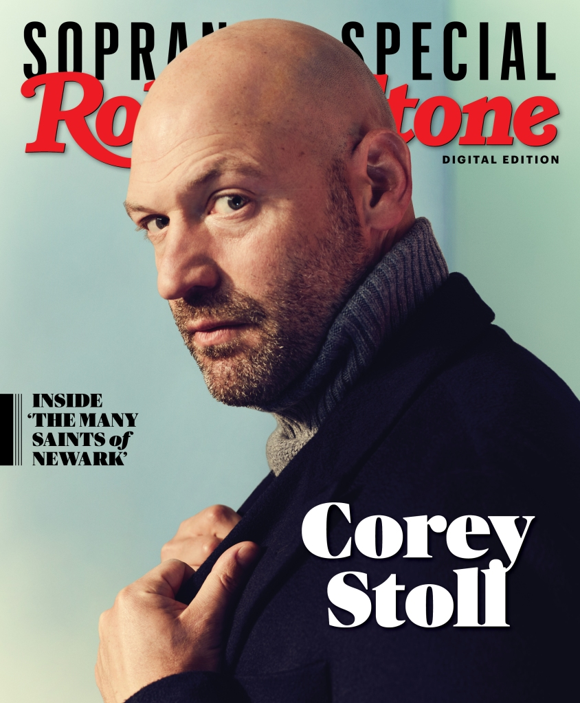 Corey Stoll photographed by Joe Pugliese for Rolling Stone. Produced by Walaa Elsiddig and Shelby Gordon. Grooming by Melissa Dezarete for Kalpana US. Styled by Luis Campuzano. Coat by Hermes. Turtleneck by Stoffa.