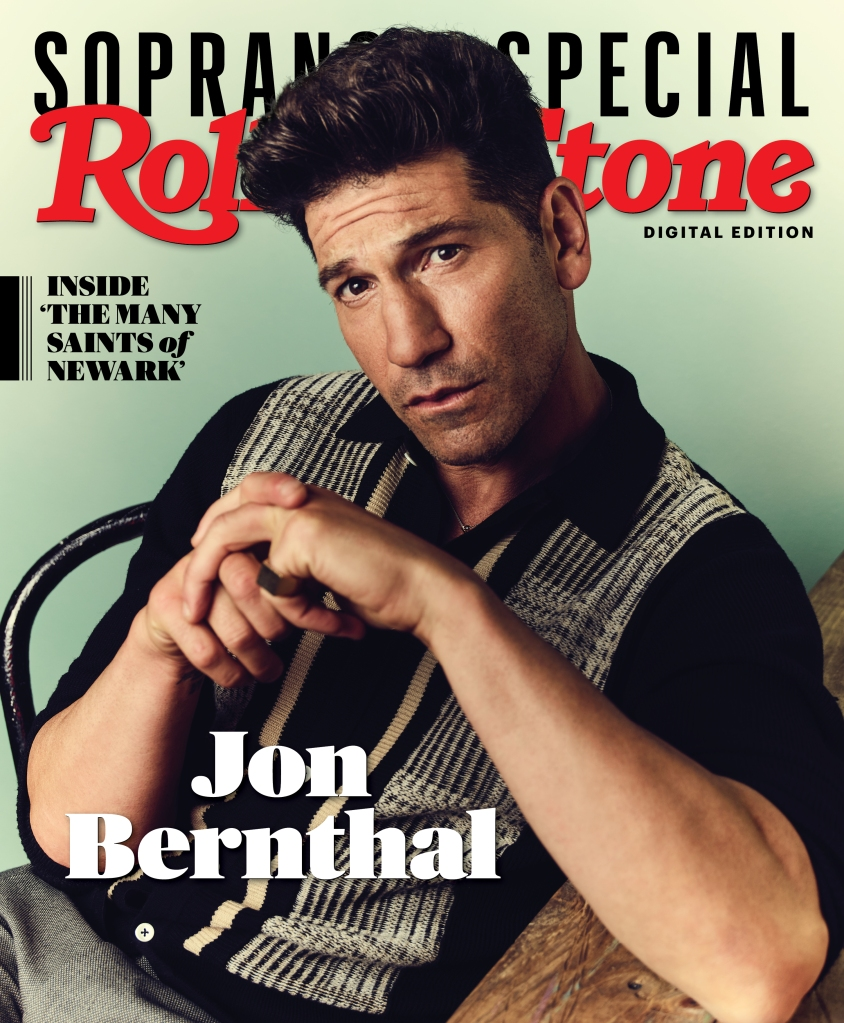 Jon Bernthal photographed by Joe Pugliese for Rolling Stone. Produced by Walaa Elsiddig and Shelby Gordon. Grooming by Kim Verbeck for The Wall Group. Styled by Stephanie Tricola for Honey Artists. Polo by King and Tuckfield. Pants by Kilton.