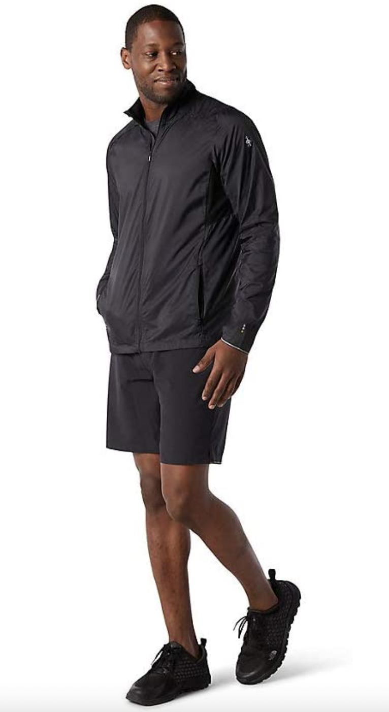 black windbreaker jacket mens