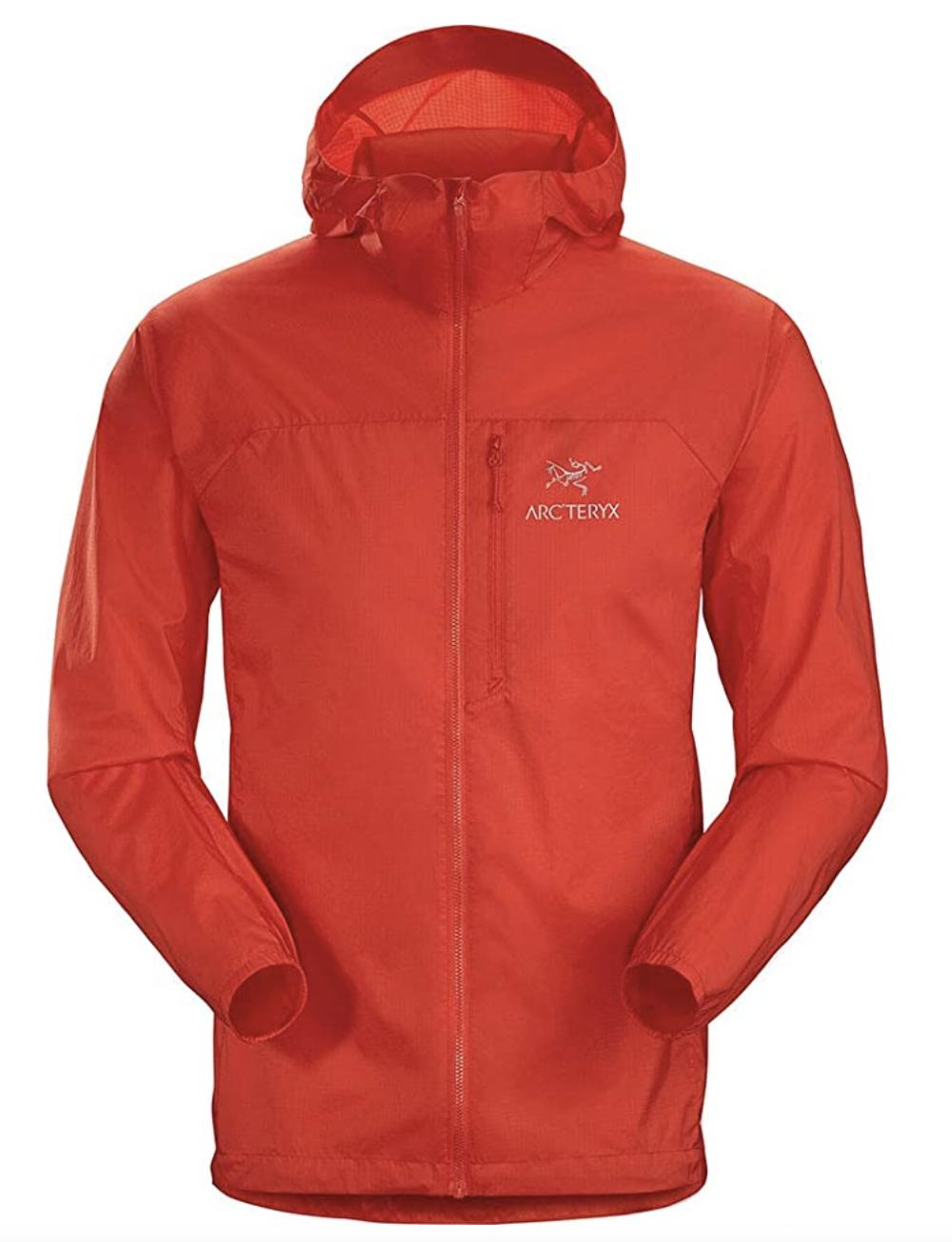 best windbreaker jacket arcteryx
