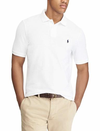 white polo shirt ralph lauren