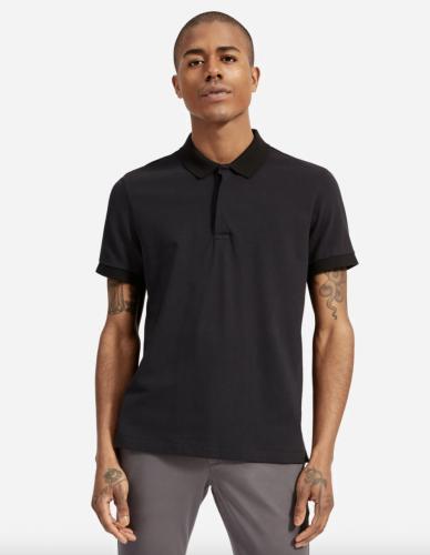 black polo shirt mens