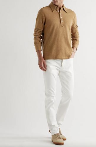 polo shirt long sleeve mens