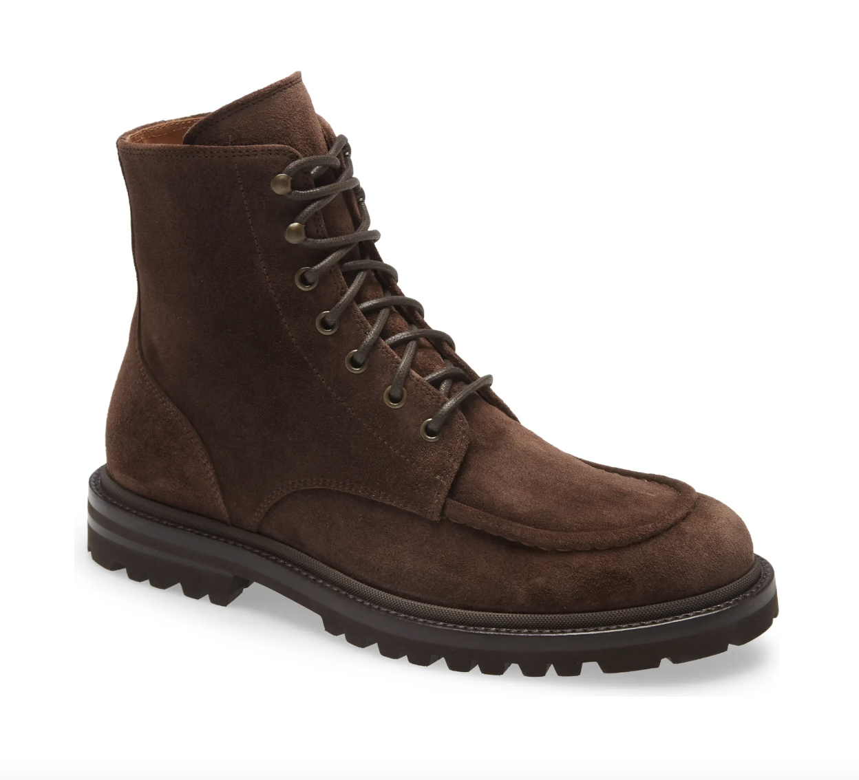 military boots suede