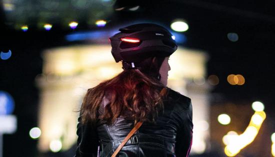 best bike helmet smart lights