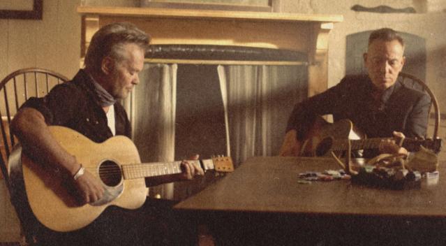 Hear Bruce Springsteen Join John Mellencamp for 'Wasted Days'.jpg