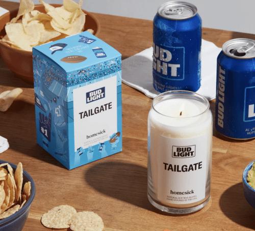 Tailgate-Candle-Bud-Light-Homesick