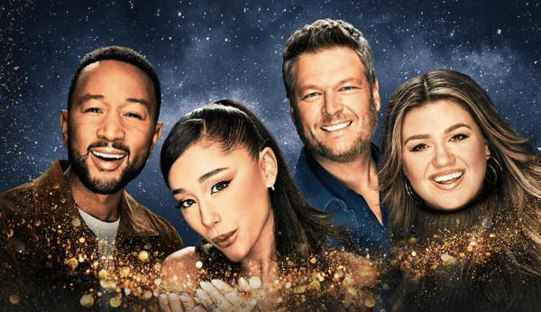 Watch-Voice-Free-Online-Ariana-Grande-John-Legend-Blake-Shelton-Kelly-Clarkson