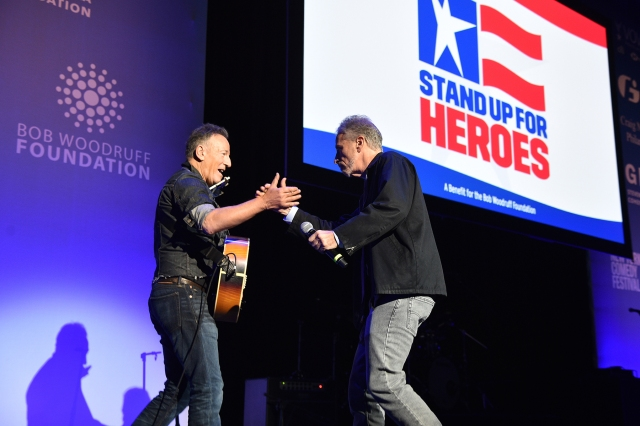 Bruce Springsteen, Jon Stewart, Jim Gaffigan to Perform at 'Stand Up for Heroes' Benefit.jpg