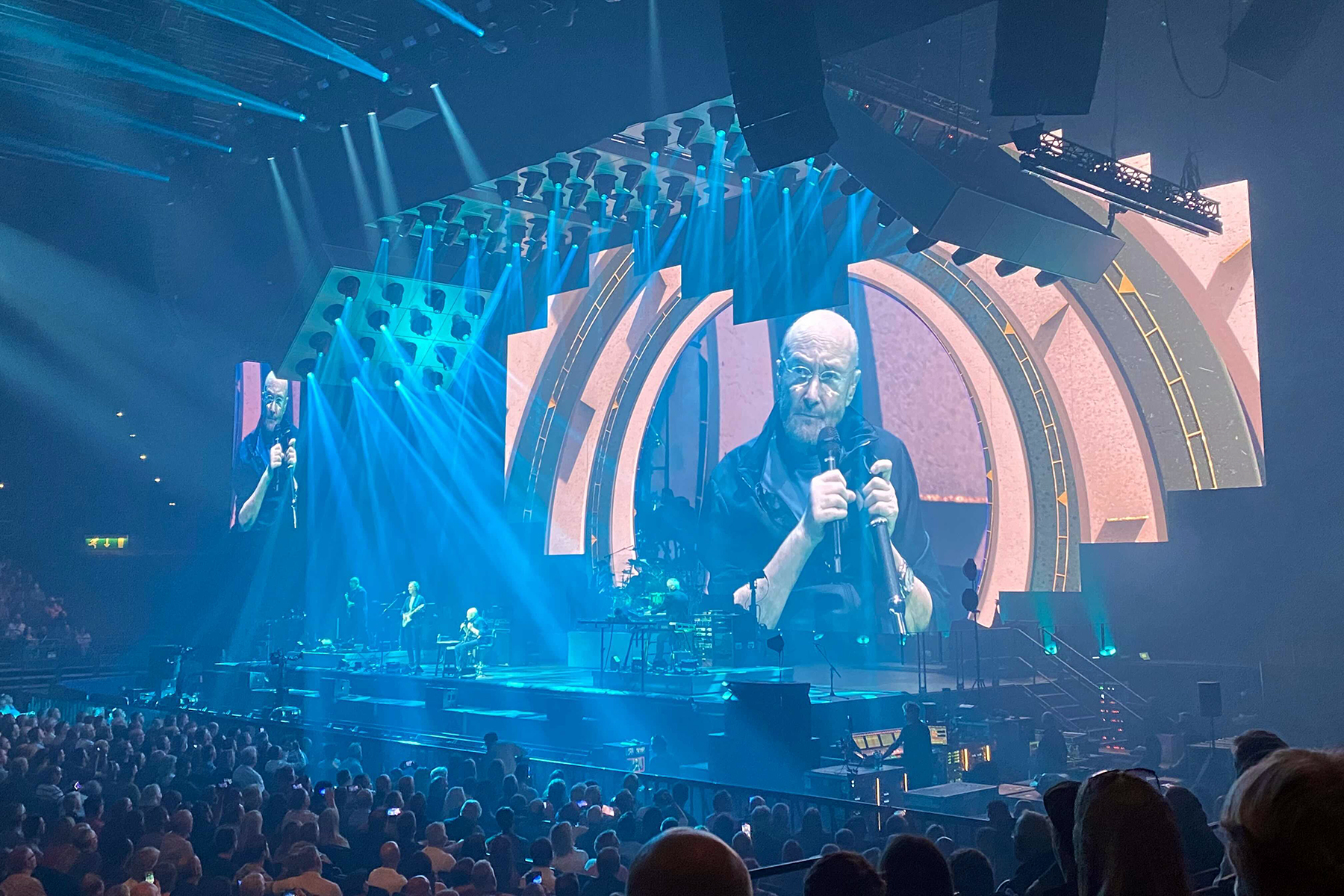 Genesis 'Turn It On Again' at Emotional Reunion Tour Launch in Birmingham - Rolling Stone