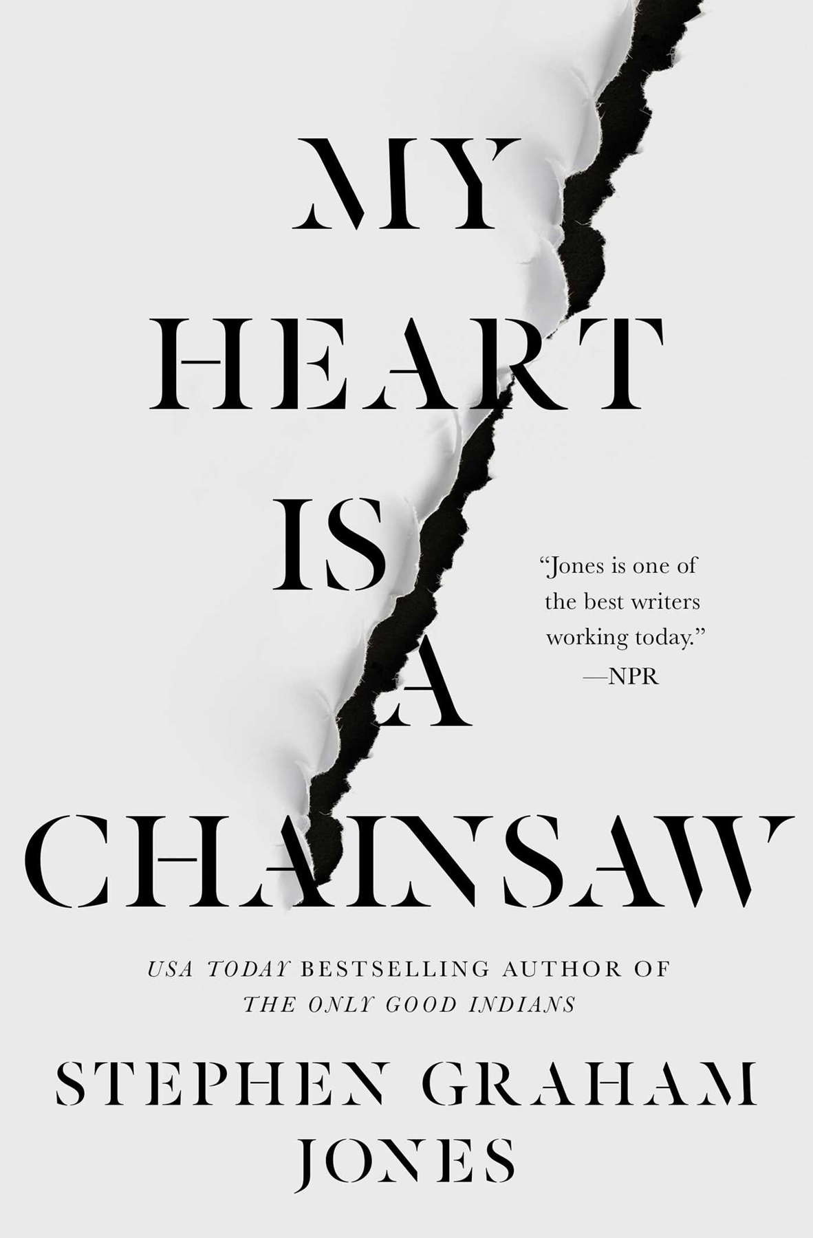 heart is a chainsaw