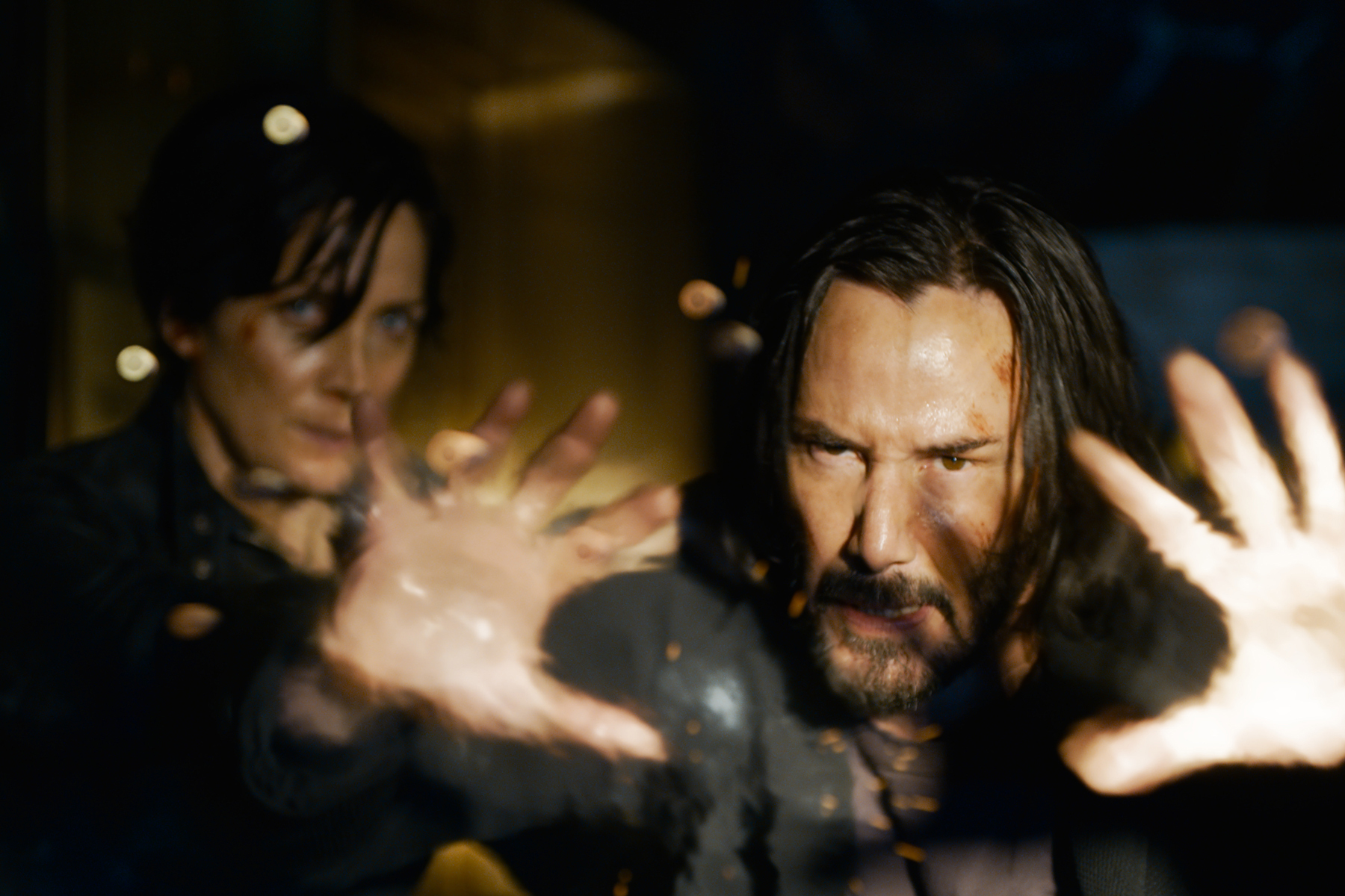 'The Matrix Resurrections' Trailer: Keanu Reeves, Carrie-Anne Moss Reacquaint in Blue Pill World