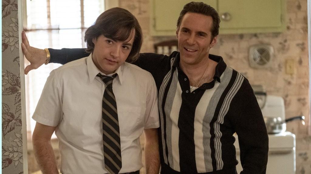 "Caption: (L-r) MICHAEL GANDOLFINI as Teenage Tony Soprano and ALESSANDRO NIVOLA as Dickie Moltisanti in New Line Cinema and Home Box Office's mob drama ""THE MANY SAINTS OF NEWARK,"""