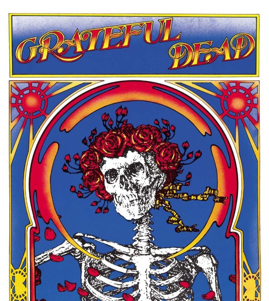 grateful dead skull roses album