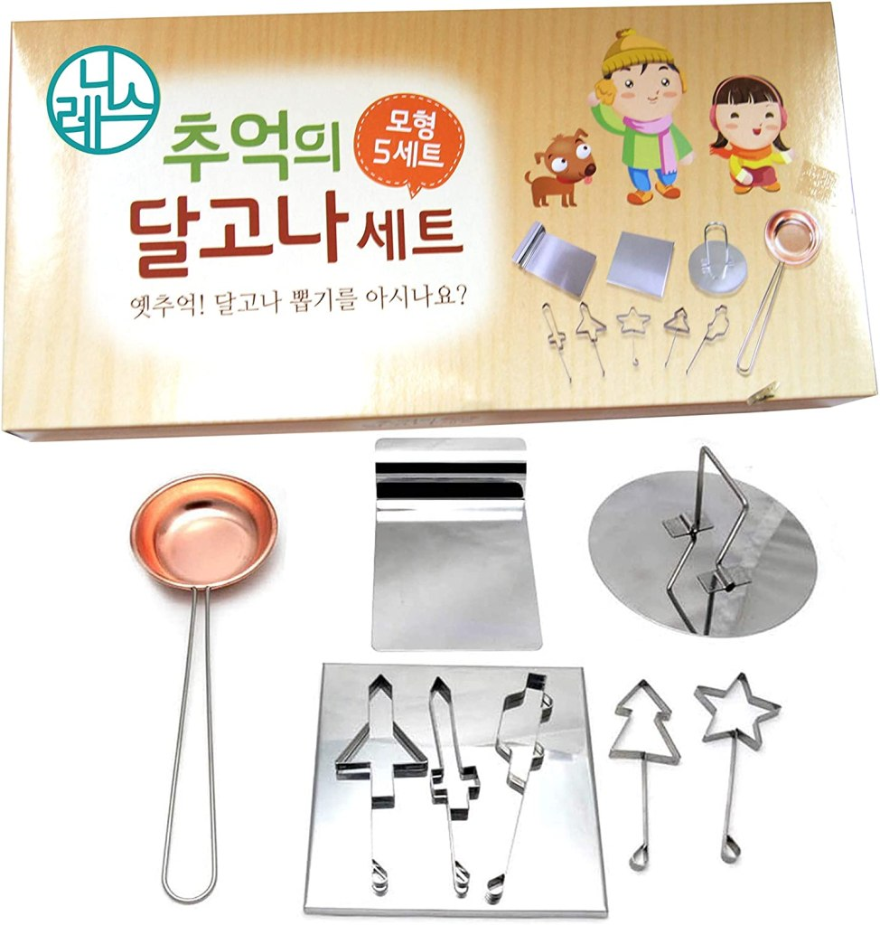 Dalgona Sugar Candy Making Kit