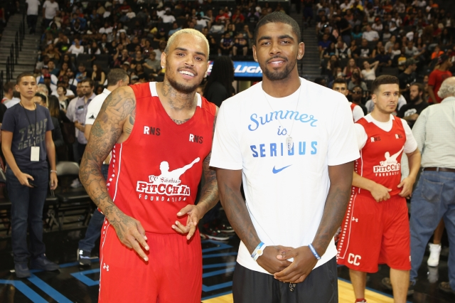 Chris Brown, Noted Judge of Character, Calls Kyrie Irving 'The Real Hero' for Anti-Vaxx Stance.jpg