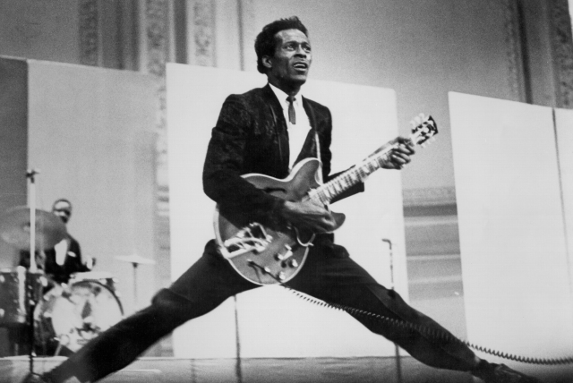 Chuck Berry's 'Live From Blueberry Hill' Announced in Honor of 95th Birthday.jpg