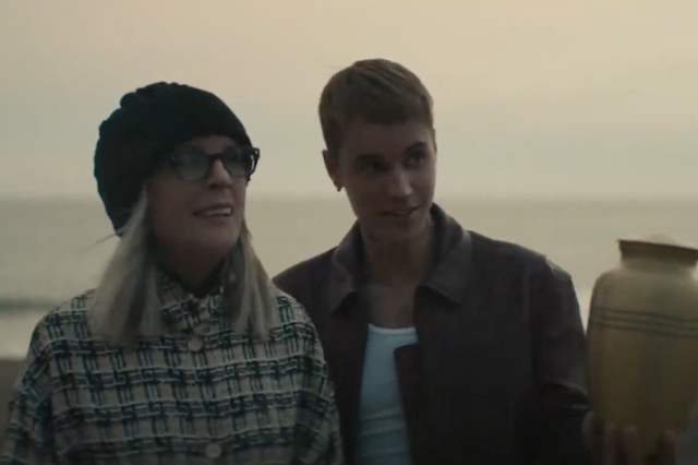 Justin Bieber and Diane Keaton Work Through Grief in 'Ghost' Video.jpg