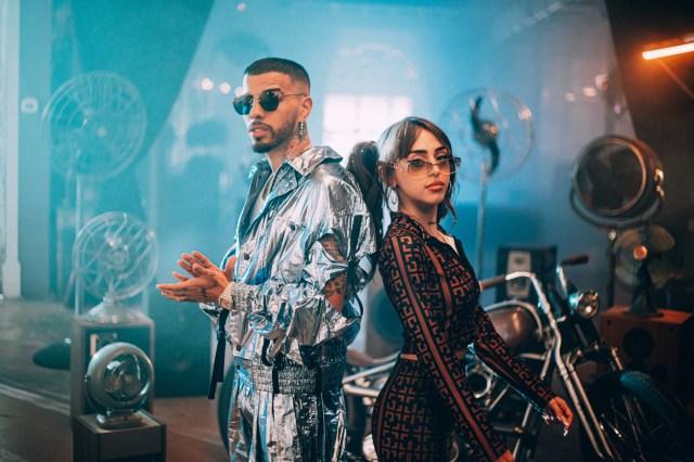 Nicki Nicole and Rauw Alejandro Head to Miami for New 'Sabe' Video.jpg