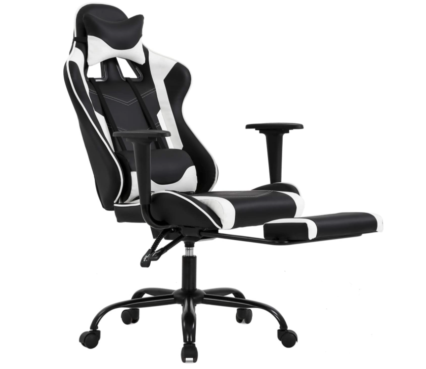 BestOffice Gaming Chair with Footrest