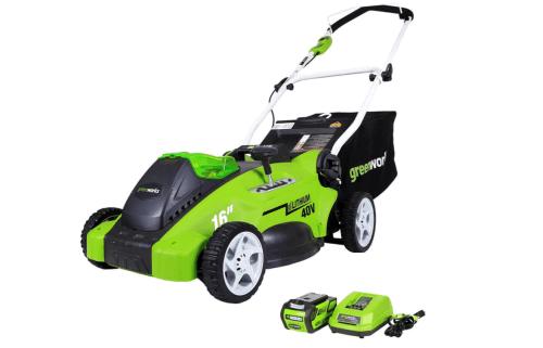 Greenworks 40V Push Lawn Mower, 16-Inch