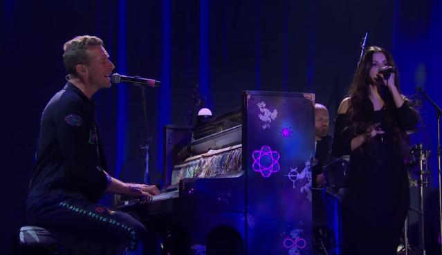 Watch Coldplay, Selena Gomez Showcase 'Let Somebody Go' on 'Corden'.jpg