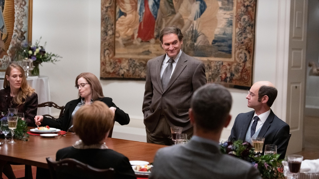 """Dopesick -- """"The Whistleblower"""" - Episode 105 -- With OxyContin abuse spreading across the country, Bridget brings the fight to Purdue while Rick and Randy seek to find a whistleblower within Purdue to tie their case together. Richard (Michael Stuhlbarg), shown. (Photo by: Gene Page/Hulu) - Episodic Stills"""