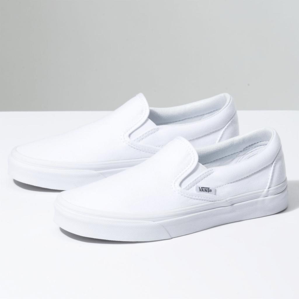 Slip-On White Vans Shoes