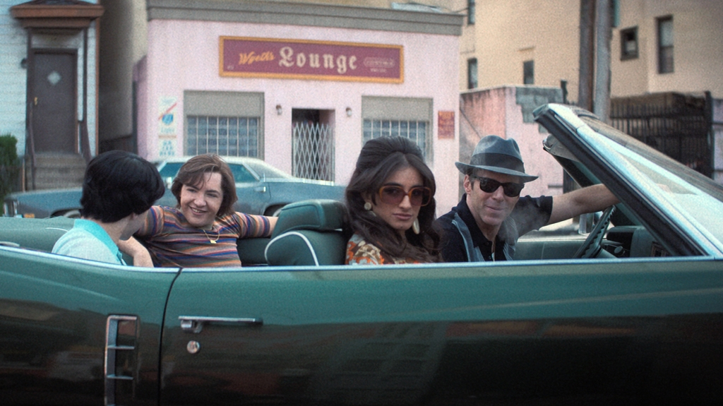 """Caption: (L-r) MICHAEL GANDOLFINI as Teenage Tony Soprano, MICHELA DE ROSSI as Giuseppina Moltisanti and ALESSANDRO NIVOLA as Dickie Moltisanti in New Line Cinema and Home Box Office's mob drama """"THE MANY SAINTS OF NEWARK,"""" a Warner Bros. Pictures release."""