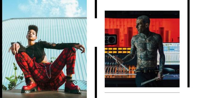 Musicians on Musicians: Willow & Travis Barker.jpg