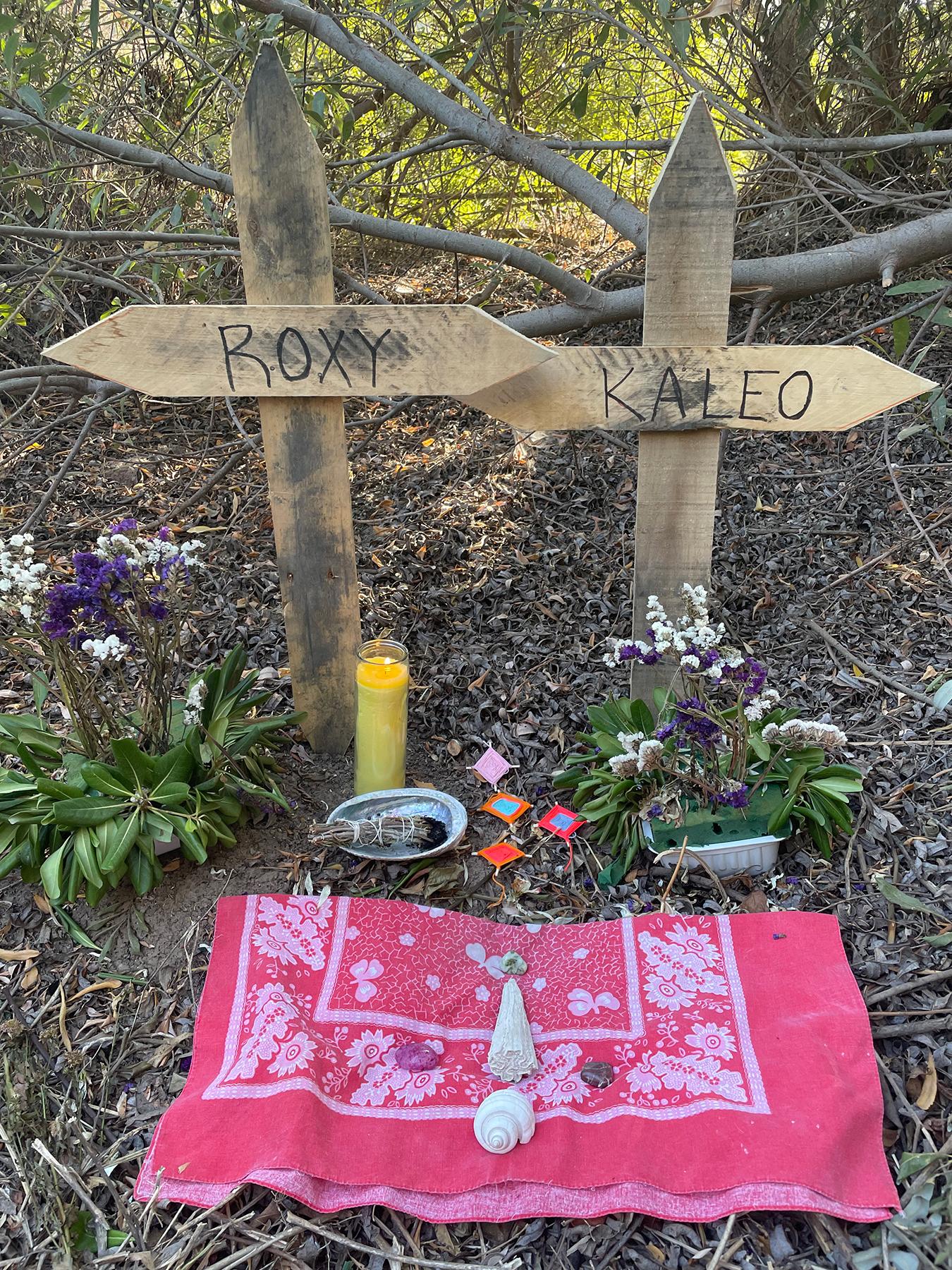 Ramirez has since erected a memorial.